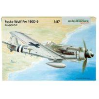 Herpa Miniaturmodelle GmbH - Herpa 741415 - Focke-wulf Fw 190 D-9 Mini Kit Avec RÉSERVOIRS
