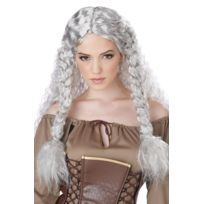 California costume - Perruque Princesse Viking