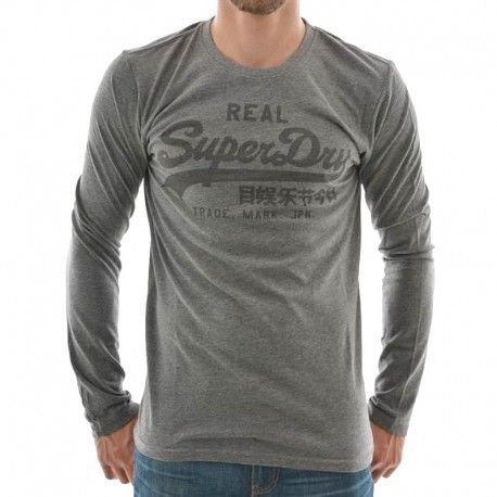 tee shirt homme manches longues superdry