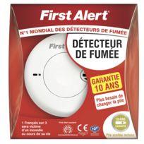 First Alert - Détecteur de fumée garantie 10 ans
