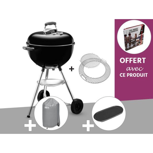 Weber Barbecue à charbon Bar B Kettle GBS 47 cm Noir +