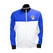 Ralph Lauren - Veste zippée Italie bleu et blanche pour homme