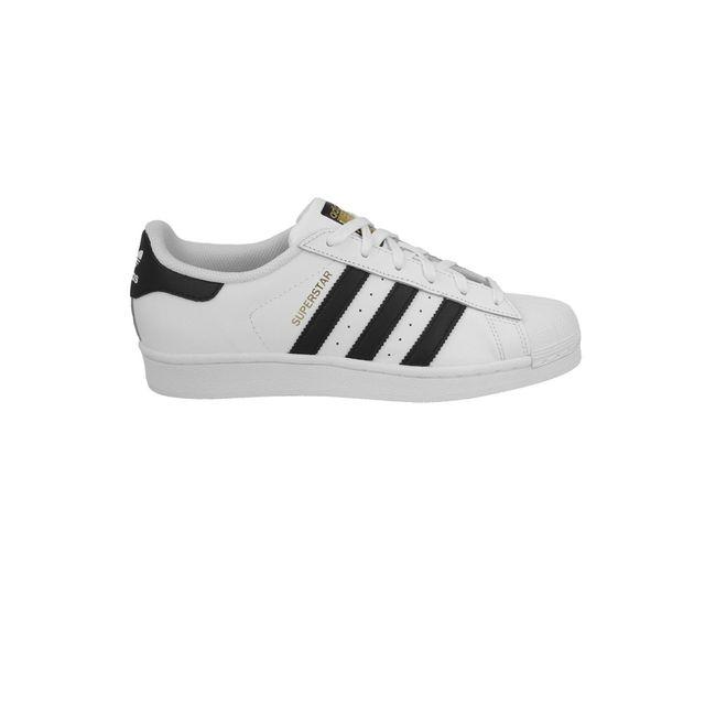 Adidas originals - Chaussures Superstar White Black Jw