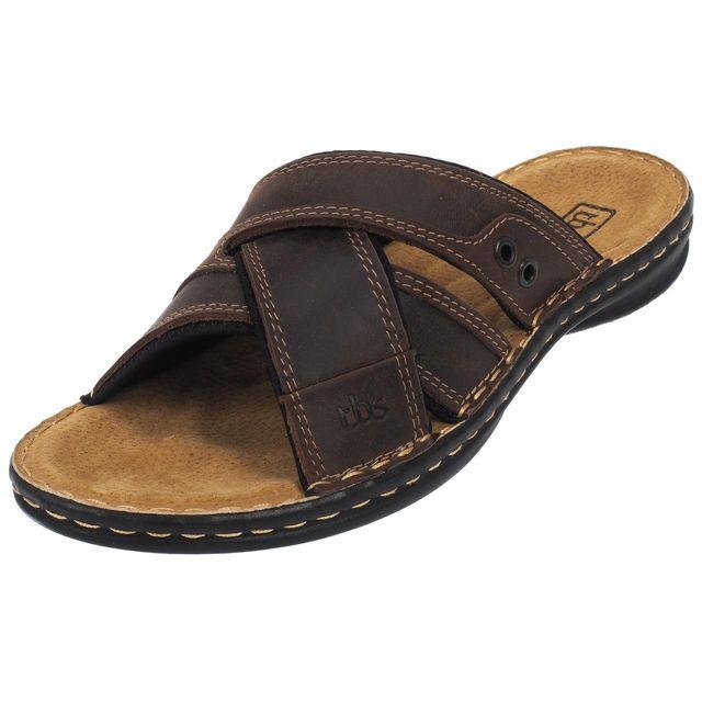 1cccd8ec9c9 Tbs - Tongs claquettes Benaix marron sandale Marron 42279 - pas cher Achat    Vente Sandales et tongs homme - RueDuCommerce