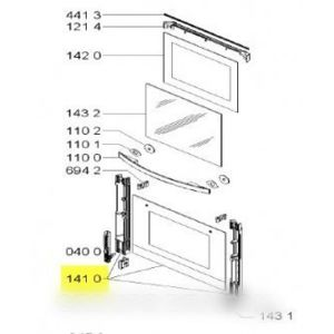 whirlpool vitre porte de four exterieure pour four pas cher achat vente plaques grilles. Black Bedroom Furniture Sets. Home Design Ideas