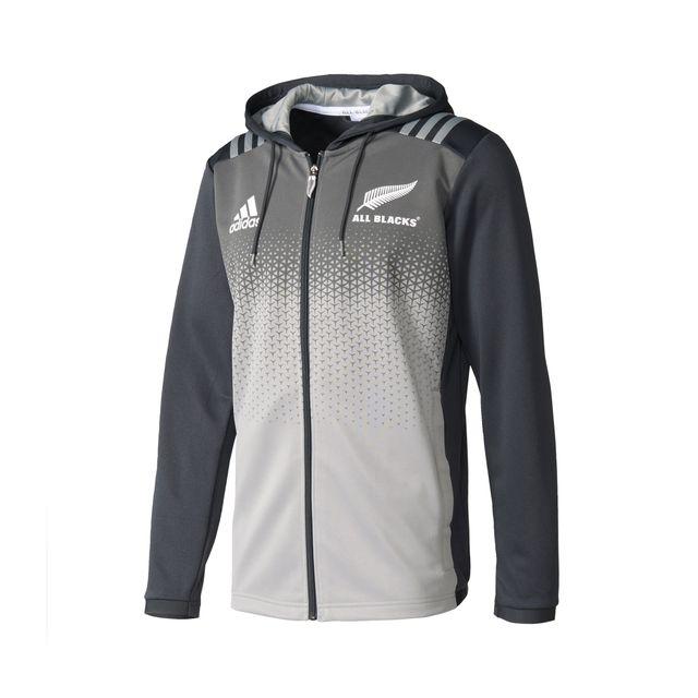 Adidas performance Veste à Capuche All Blacks Gris pas
