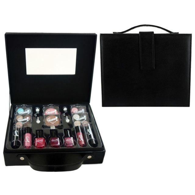Gloss - Coffret cadeau coffret maquillage mallette de maquillage Fashion  Noir - 27pcs 49b038feacbd