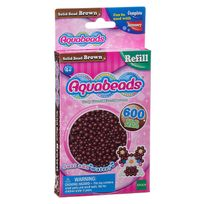 Aquabeads - Recharge de 600 perles marron
