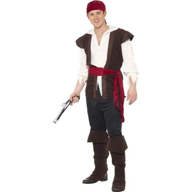 11a30500f03 Santex - Déguisement pirate homme - M 40 42 - pas cher Achat   Vente  Accessoires déguisements - RueDuCommerce