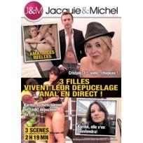 Jacquie Et Michel - 3 filles vivent leur dépucelage anal en direct