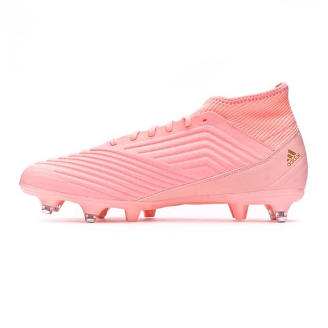 Adidas Predator 18.3 SG Clear orange Trace pink pas cher