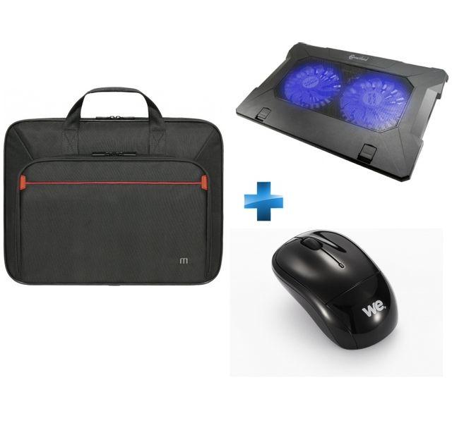 d6e5156055 MOBILIS - Pack Deluxe Sacoche 17,3'' + Souris sans fil + Support.  Description; Fiche technique. Sacoche pour ordinateur portable ...