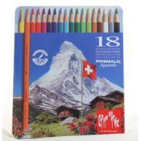 Caran d-Ache - Caran D'ACHE Crayons de couleur Prismalo, étui métal de 18