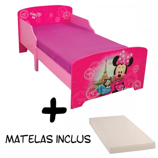 25 sur lit enfant avec tiroirs design minnie mouse. Black Bedroom Furniture Sets. Home Design Ideas