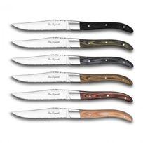 LARES - Coffret de 6 couteaux à steak royal Louis