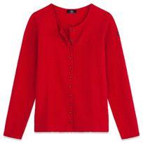 Tbs - Veste Dragil Rouge Veste - Manteau Femme Vêtements