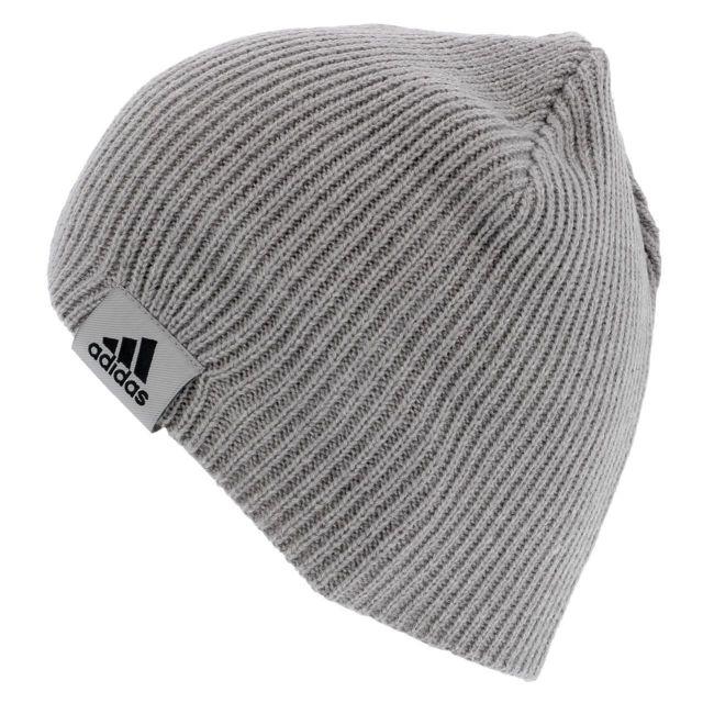 Bonnet classique Perf beanie light grey Gris 46749