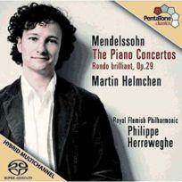 Pentatone - Félix Mendelssohn-Bartholdy - Les 2 concertos pour piano, Rondo brillant opus 29