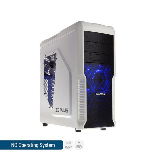 SEDATECH PC Gamer, AMD Ryzen 5, RX 550, 250 Go SSD, 1 To HDD, 8Go RAM, sans OS. Ref: UCM6052I2