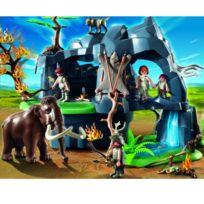 Playmobil - 5100 : Grotte préhistorique avec mammouth