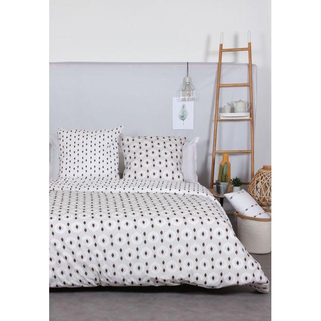 comptoir des tisseurs parure de lit ethnique 100 coton. Black Bedroom Furniture Sets. Home Design Ideas