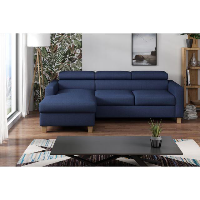 Canapé lit angle droit Collection Elégance