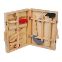 Equilibre et aventure - Boite à outils Woody 100% bois
