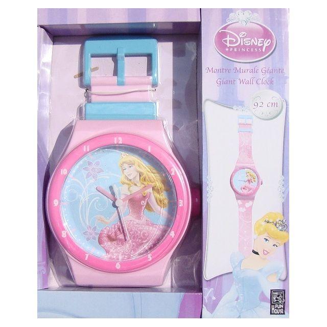 Jemini Montre Geante Disney Princesses Horloge Murale
