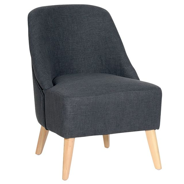 Altobuy Nordic - Fauteuil Anthracite