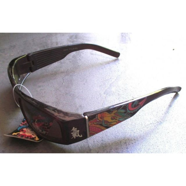 hotrodspirit lunette de soleil femme tattoo tigre noir