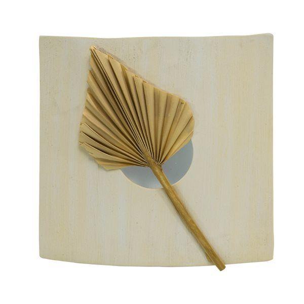 Générique Applique murale en céramique E27 Lumière mur intérieur décor design bois beige 75 Watts