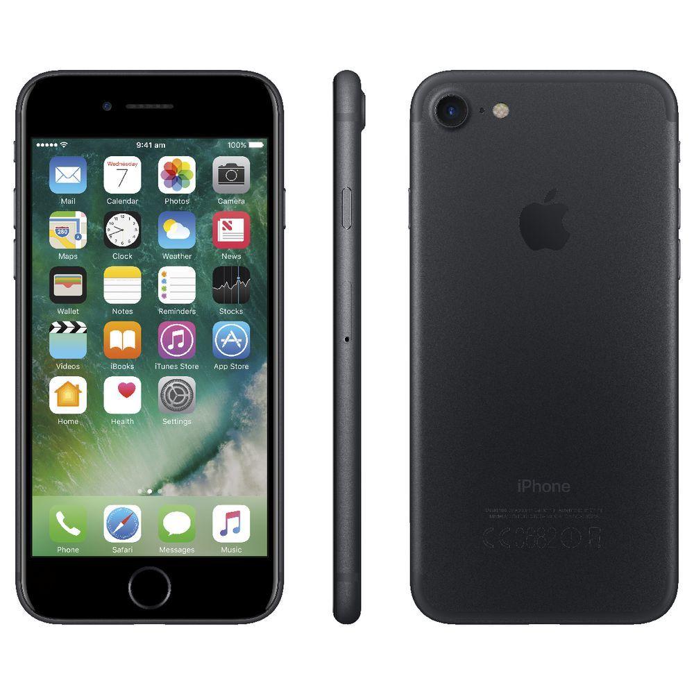 iPhone 7 128 Go Apple Noir Reconditionné
