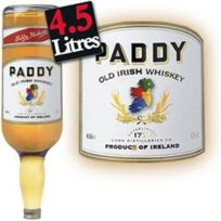 Paddy - Irish Whiskey -4.5L