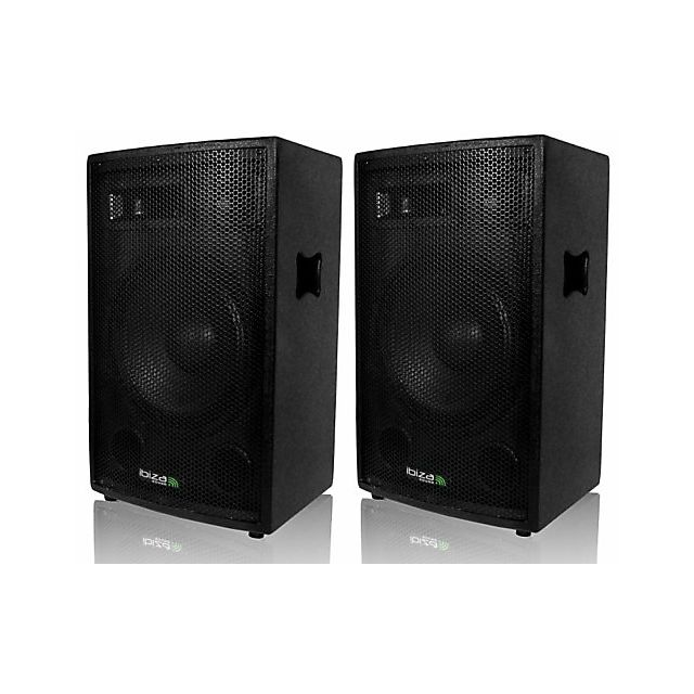 Ibiza Paire d'enceintes 2 x 600 W Sound Club-12