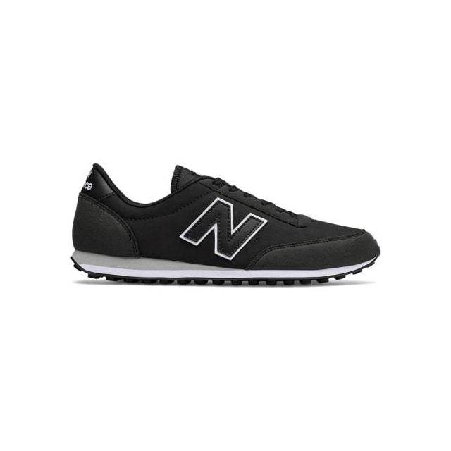 Chaussures U 410 noir gris foncé blanc