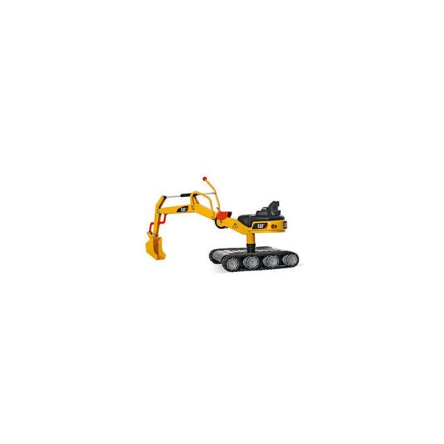 Rolly Toys Excavatrice Caterpillar Métal