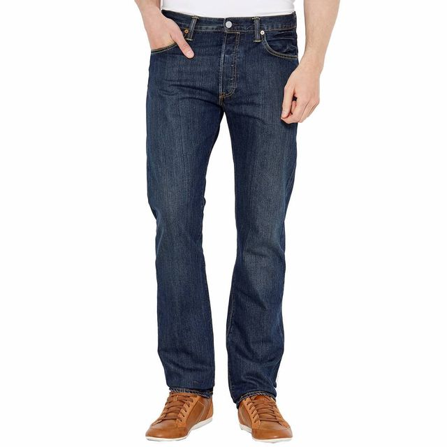26ff67f32c9 Levi S - Jean 501 Original Fit Dark Clean - pas cher Achat   Vente Jeans  homme - RueDuCommerce