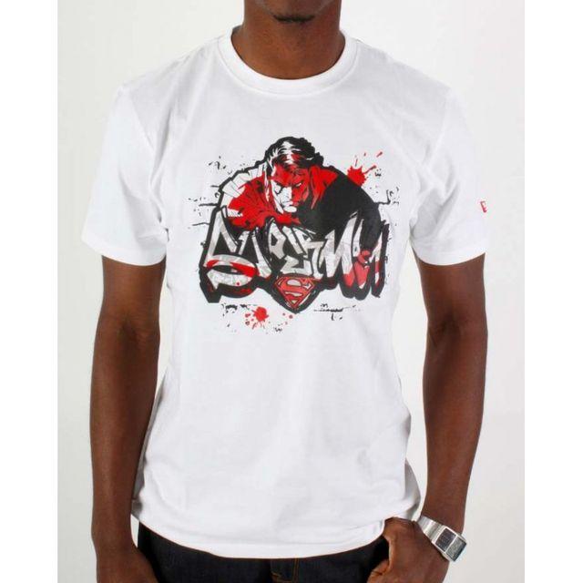 New Era - Tshirt Super Graff Blanc - pas cher Achat   Vente Tee shirt homme 5453b06a0ab7