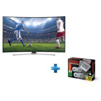 Samsung - TV LED 55'' 139 cm UE55MU6220 + Nintendo Classic Mini : Super NintendoTM Entertainment System