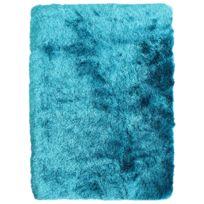 mon beau tapis tapis toodoo 190x130cm turquoise - Tapis Turquoise