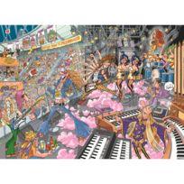 Jumbo - Puzzle 1000 pièces : Wasgij : Les rockeurs préhistoriques