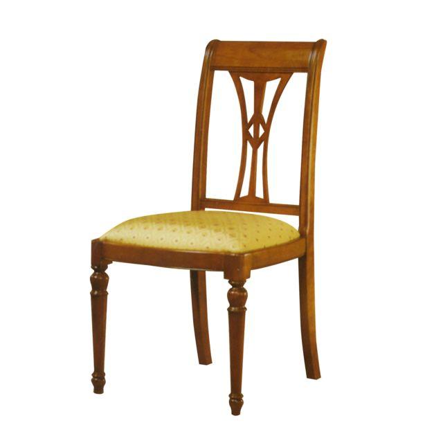 tapissée Bela Chaise en chêne massif assise SpUzMV