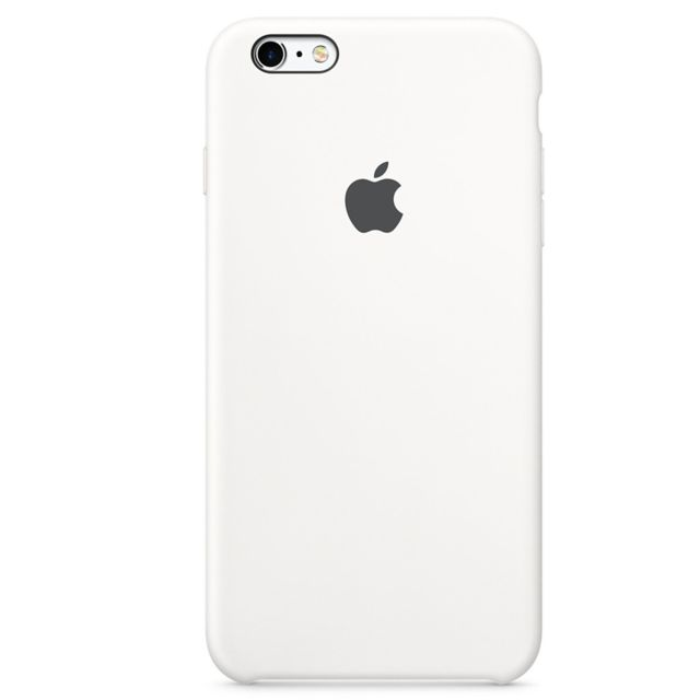 APPLE iPhone 6s Plus Silicone Case - Blanc - MKXK2ZM/A