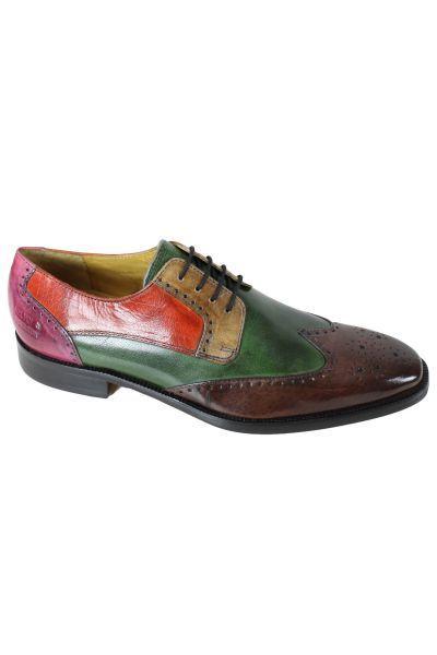 Melvinhamilton - Chaussure en cuir Melvin   Hamilton Jeff 14 Lt Purple Green 9f0ed4c0db33
