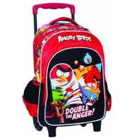 Angry Birds - Sac à roulettes Fight Trolley 43 Cm - Cartable