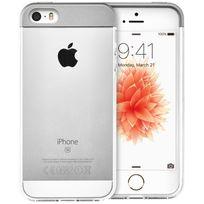QDOS - Coque Topper ARGENT pour APPLE iPhone SE