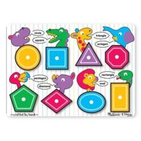 Melissa & Doug - 13285 - Puzzle - Shapes Peg