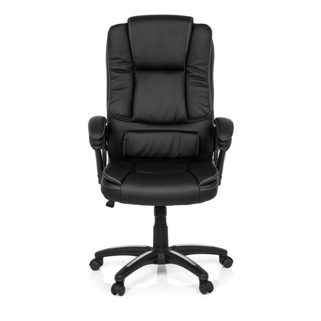 Hjh Office Fauteuil de direction Relax Cl120 simili cuir noir