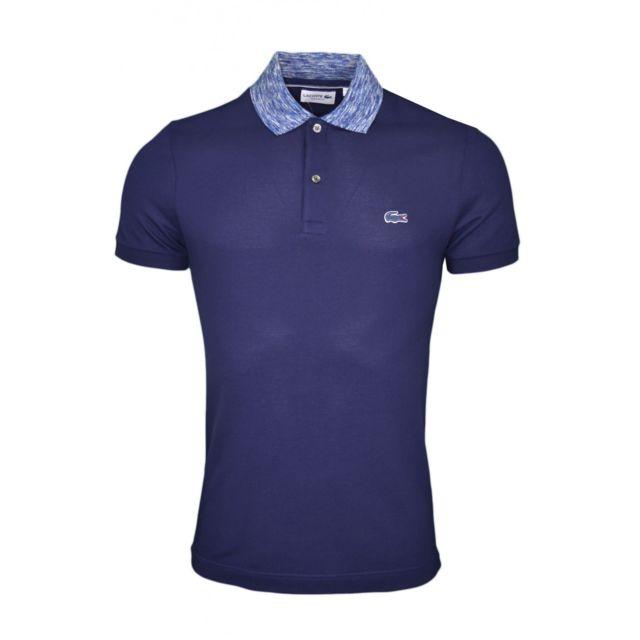 05bd25d7e4 Lacoste - Polo bleu marine pour homme - pas cher Achat / Vente Polo ...