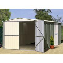 Treco - Garage mtal 10x17 Colorbond 3,07 x 5,26 x 2,03m